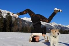 Fotoshooting Yoga und Hund 2020